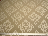 3 7/8 yards of velvet mix damask upholstery fabric