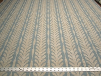 3 7/8 yd Textured Leaf Stripe Upholstery Fabric