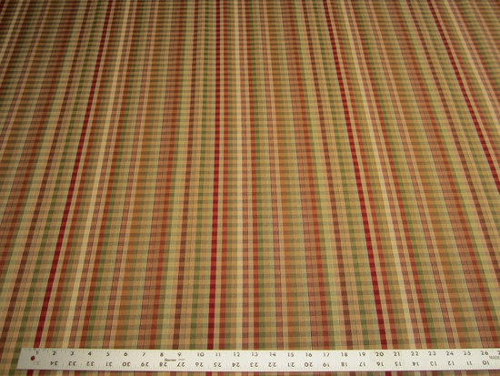 3 yards checked stripe jaquard upholstery fabric