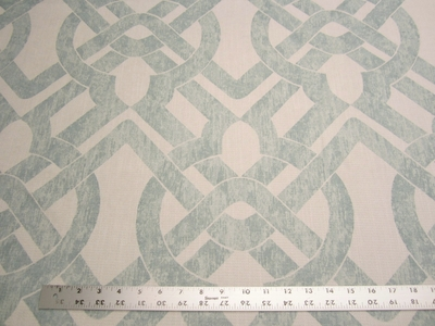 3 yards of Curves Seaglass upholstery fabric by P. Kaufmann