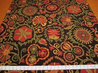 3 yards of Robert Allen Busy Petal jacquard upholstery fabric