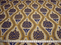 3 yards of Robert Allen Sophia Range Cobalt upholstery fabric