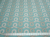 4 1/2 yards of Robert Allen Graceful Swirl scroll upholstery fabric