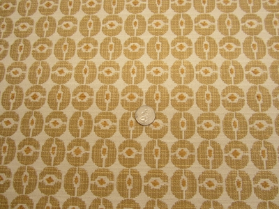 4 1/2 yards Wagon Wheels color zest upholstery fabric from Robert Allen