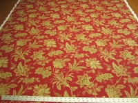 4 1/4 yards Barano print fabric for drapery or upholstery