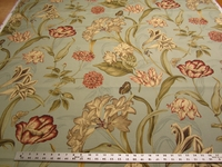 4 1/4 yards of Waverly Sun N Shade Somerset Botanical Mist