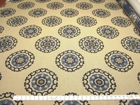 4 1/8 yards of Kravet Roman Circle medallion upholstery fabric