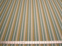 4 3/4 yards textured chenille mix stripe upholstery fabric