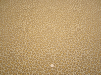 4 5/8 yards of Fabricut Cheetah Canary upholstery fabric
