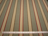4 yards Marley stripe color spa upholstery fabric
