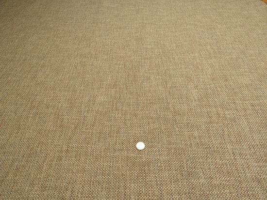 """4 yards of Marlatex """"Lottery"""" tweed type upholstery fabric color brown"""