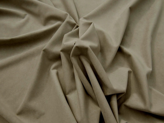 4 yards of Passion Suede color Stone upholstery fabric
