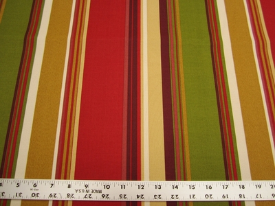 4 yards of Solarium stripe outdoor upholstery fabric