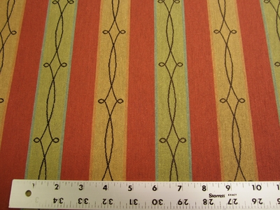 5 1/2 yards of Cassio paprika crypton upholstery fabric