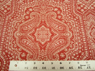 5 1/2 yards of P.Kaufmann Vintage Find print drapery/upholstery fabric