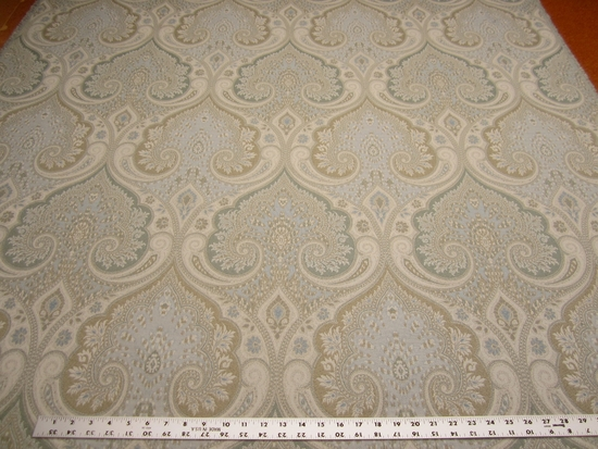 5 3/4 yards Kravet Loutra spa damask upholstery fabric