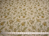 5 3/4 yards of kravet floral upholstery fabric