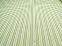 "5 yards of Marlatex ""Boden"" stripe upholstery fabric color pistachio"