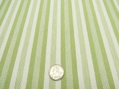 """5 yards of Marlatex """"Boden"""" stripe upholstery fabric color pistachio"""