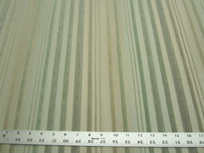 6 1/8 yards of cut velvet stripe crypton upholstery fabric