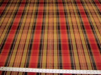 6 1/8 yards of pretty plaid upholstery fabric