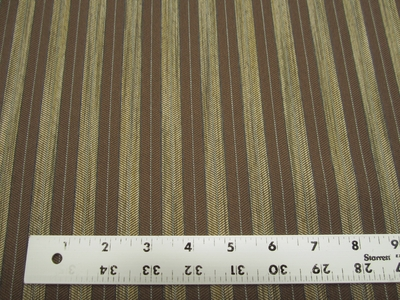 6 3/8 yards of stripe pattern crypton upholstery fabric