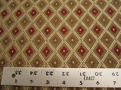 6 5/8 yards Diamond chenille mix upholstery fabric