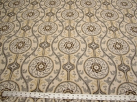 6 yards Magnolia Home Fashions Oh Suzanni Metal drapery fabric
