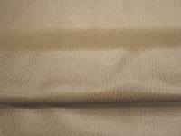 6 yards of sahara tan ostrich pattern artificial leather upholstery fabric