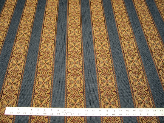 7 3/4 yards of Kravet Unique Classic Navy upholstery fabric
