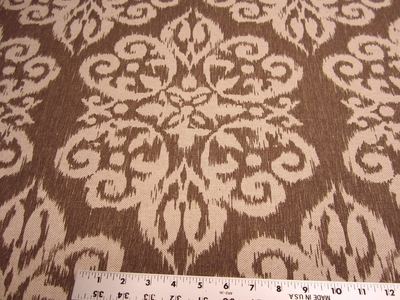 7 yards Lacefield Spicer Printed Damask Drapery/Upholstery fabric
