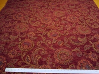 7 yards of Fabricut Italy floral chenille upholstery fabric