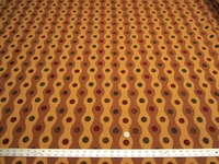 7 yards of geometric chenille upholstery fabric