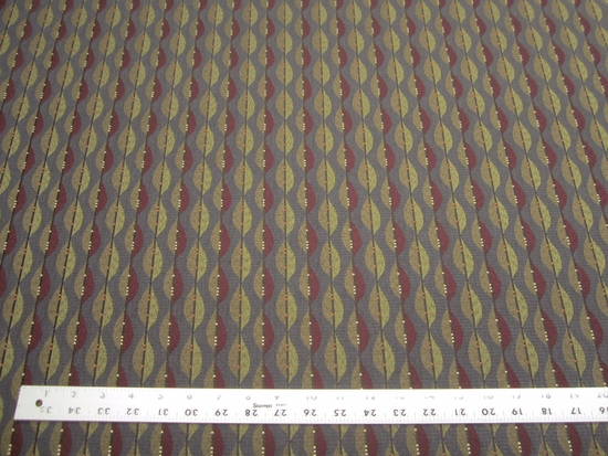 9 3/8 yards of geometric crypton upholstery fabric