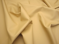 9 yards of softside tan vinyl upholstery fabric