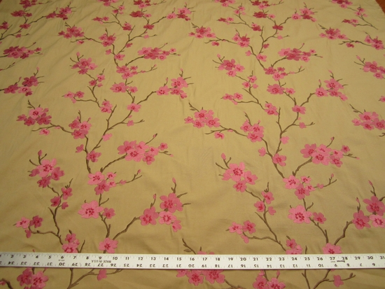 Braemore Embroidered Decorating Fabric HANGZHOU color petal