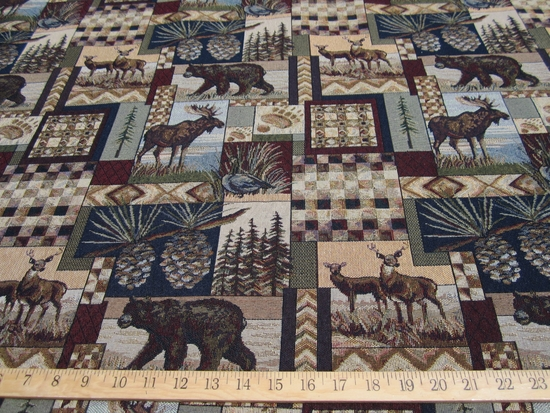 Peter's Cabin scenic northwest woods tapestry