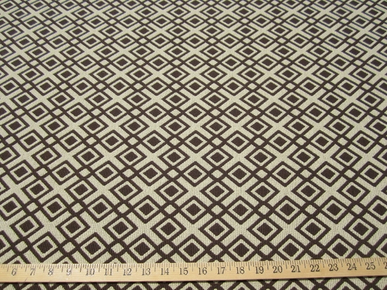 ft842, Geometric diamond patterned upholstery