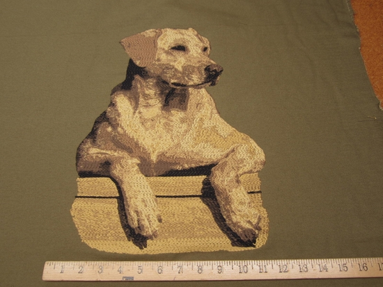 ft975, Labrador Retriever Dog Tapestry panels