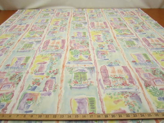 R1929B, 3 yd of window view cotton