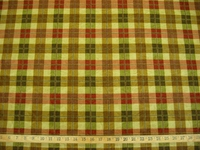 r8197, 1.3 yd Richloom Plaid Print Drapery
