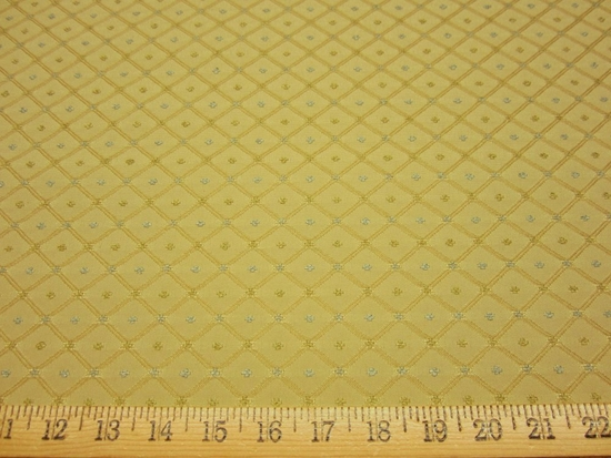 r8650, 6.7 yd Multi Color Diamond Pattern Upholstery