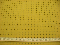 r8656, 3.75 yd Rich Gold Patterned Upholstery