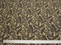 r8739c, 4.5 yd Paisley and Leaf Upholstery