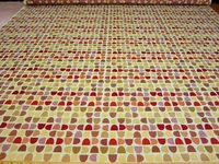 r8954b, 4 yd geometric shapes upholstery fabric