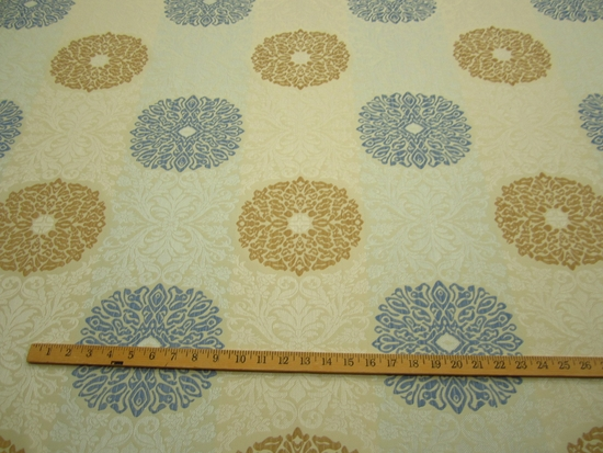 r9025, 6.1 yd Formal Brocade Design Upholstery Fabric