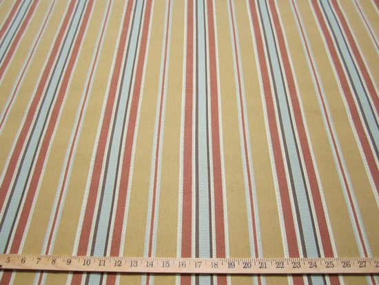 r9027, 6.3 yards Stripe Upholstery Fabric
