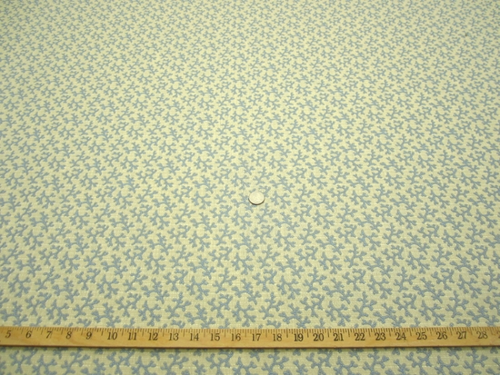 r9150, 9 7/8 yds Textured Coral Design Upholstery