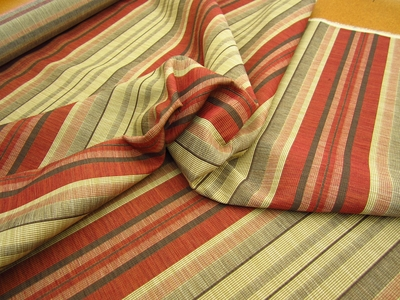 r9171c, 7 1/8 yds Rocco Textured Stripe Upholstery