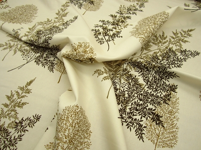 r9256, 2 1/4 yds Mayfair Cotton Print Drapery